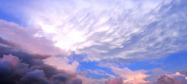 Beautiful Sky and Cloud Formation